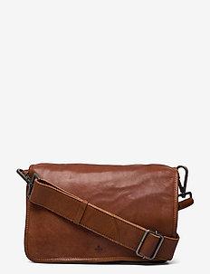 Pixie shoulder bag Pippa - axelremsväskor - cognac