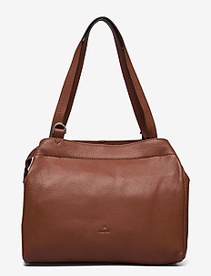 Sorano shoulder bag Grethe - schoudertassen - brown