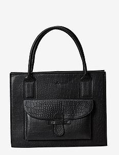 Ragusa shopper Valentina - BLACK CROCO