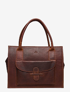 Ragusa shopper Valentina - fashion shoppers - dark brown