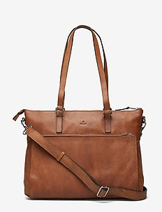 Napoli working bag Malia - schoudertassen - cognac