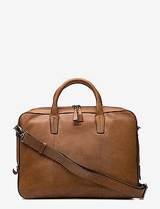 "Napoli working bag Glenn 14"" - laptop-tassen - cognac"