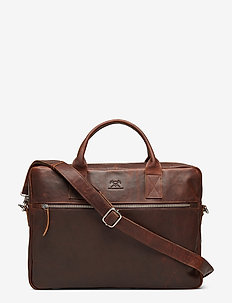 Catania briefcase Tobias 15,6' - computertasker - dark brown