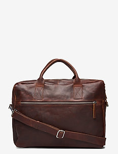 Catania briefcase Axel 15,6' - laptop bags - dark brown