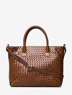 Bacoli shoulder bag Vilde - BROWN
