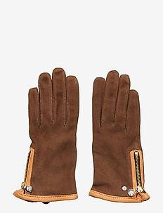 Adax glove Carin - BROWN