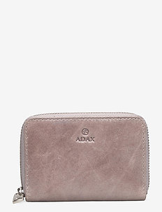 Salerno wallet Cornelia - lompakot - cement
