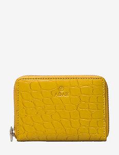 Teramo wallet Cornelia - MUSTARD