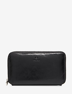 Salerno wallet Manilla - BLACK