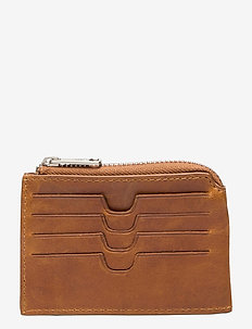Salerno credit card holder Susy - korttikotelot - cognac