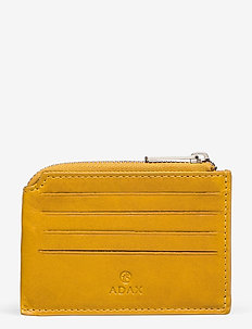 Salerno credit card holder Susy - MUSTARD