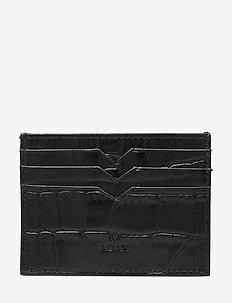 Piemonte credit card holder Milo - kaart houders - black