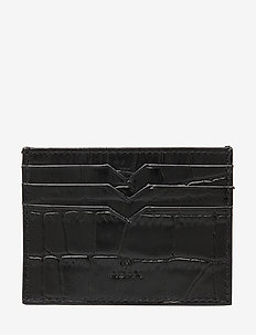 Piemonte credit card holder Milo - kortholdere - black