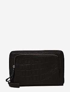 Amigo wallet Inez - BLACK