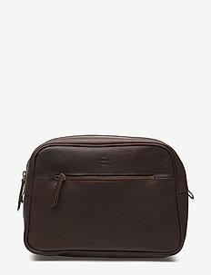 Kb3 wash bag Felix - toalettvesker - brown