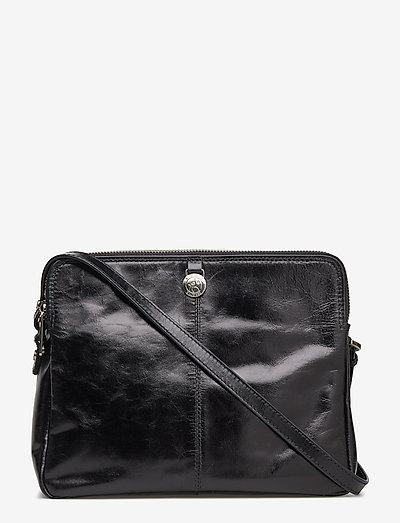 Adax Salerno Shoulder Bag Viveka- Top Handle Black