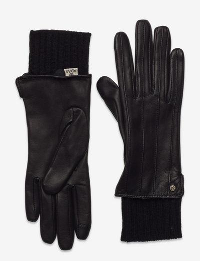 Adax glove Amy - handsker & vanter - black