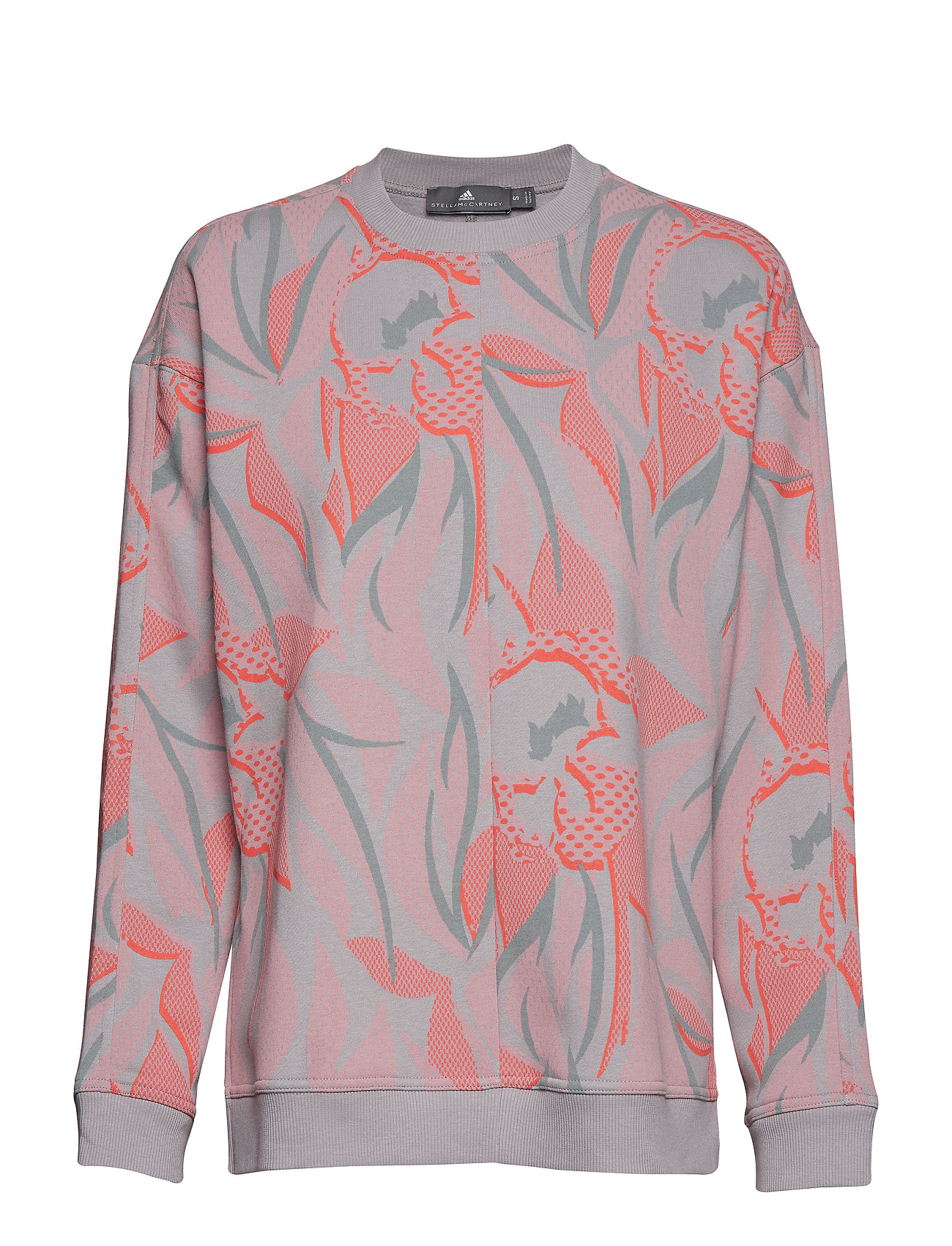 adidas by Stella McCartney CREW SWEAT P - PEAGRY/BAAIPI