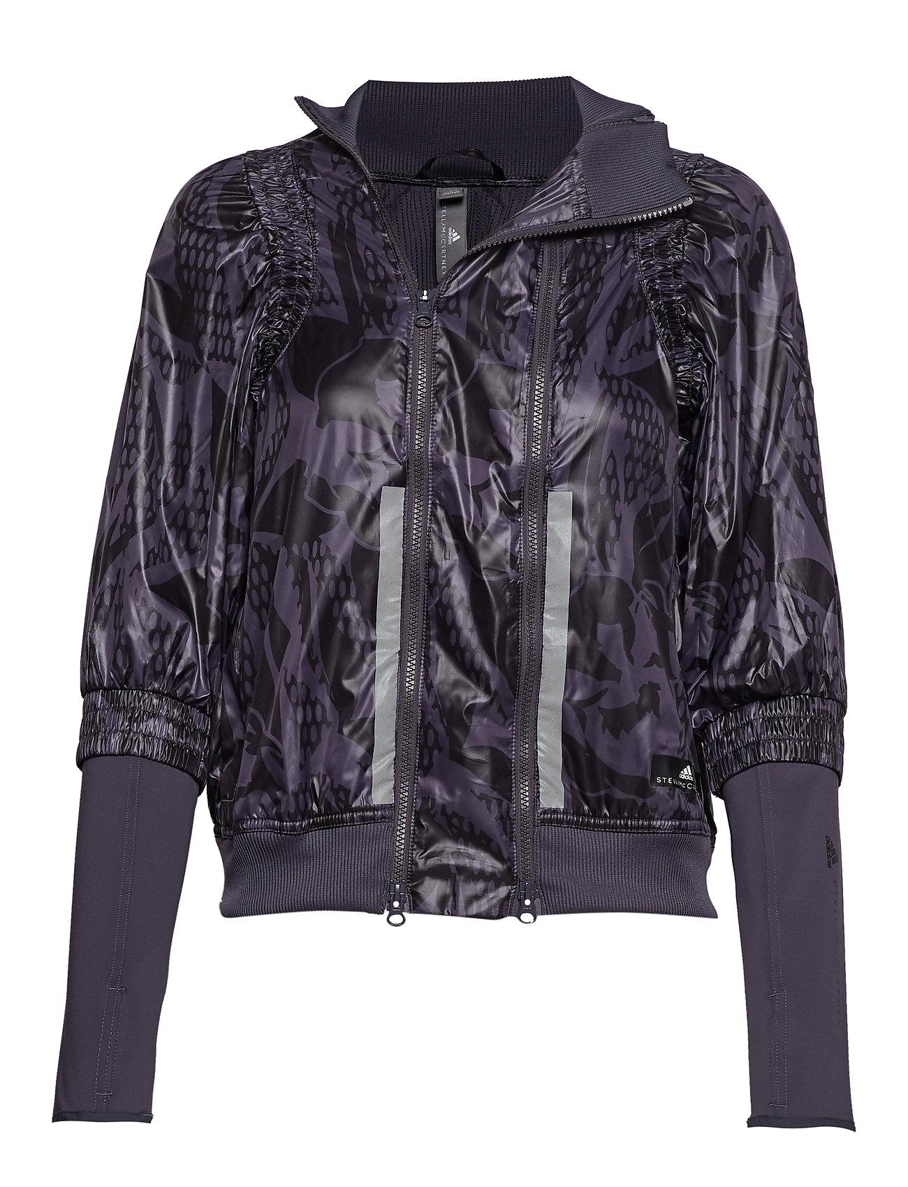 adidas by Stella McCartney RUN JACKET - NGTSTE/BLACK