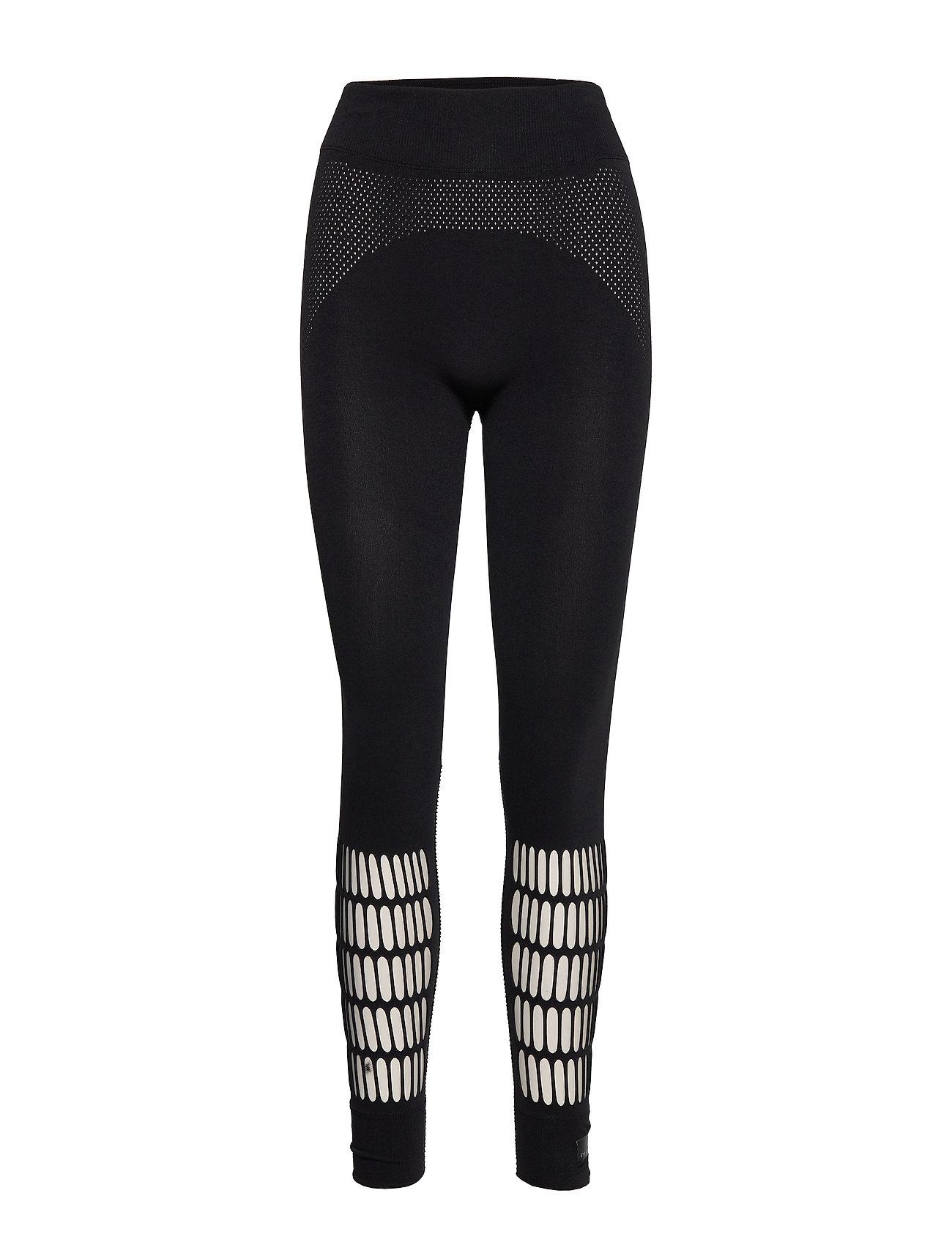 adidas by Stella McCartney WARP KNIT TIGHT - BLACK