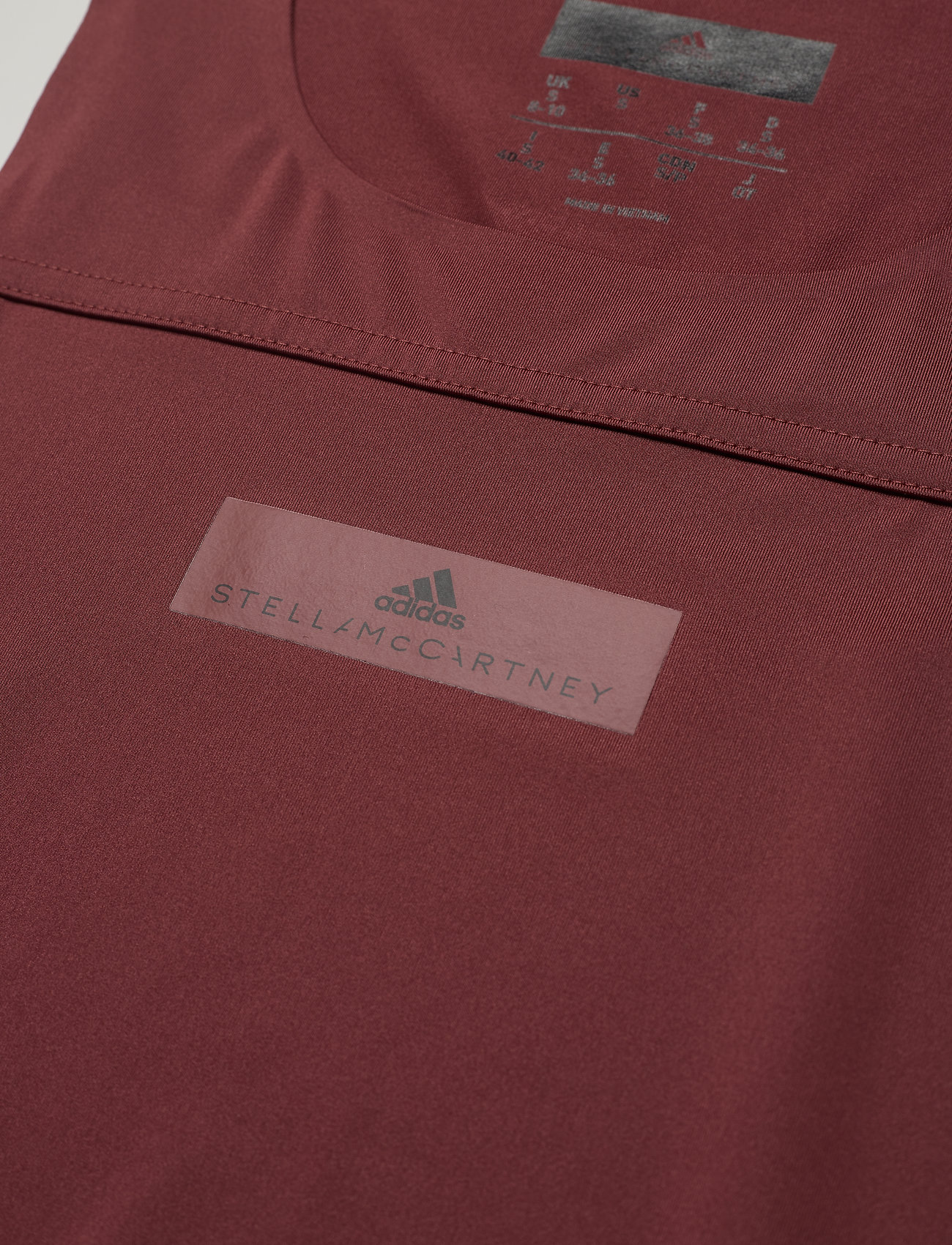adidas by Stella McCartney RUN LOOSE TANK - T-shirty i zopy CLARED/UTIBLK - Kobiety Odzież.