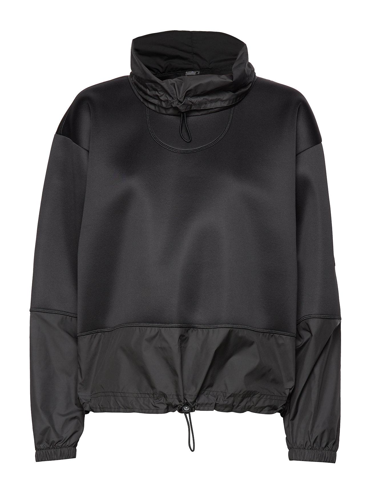 adidas by Stella McCartney RUN SWEATSHIRT - BLACK