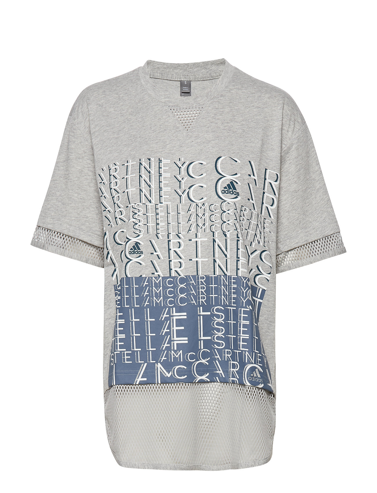 adidas by Stella McCartney LOGO TEE - MGREYH