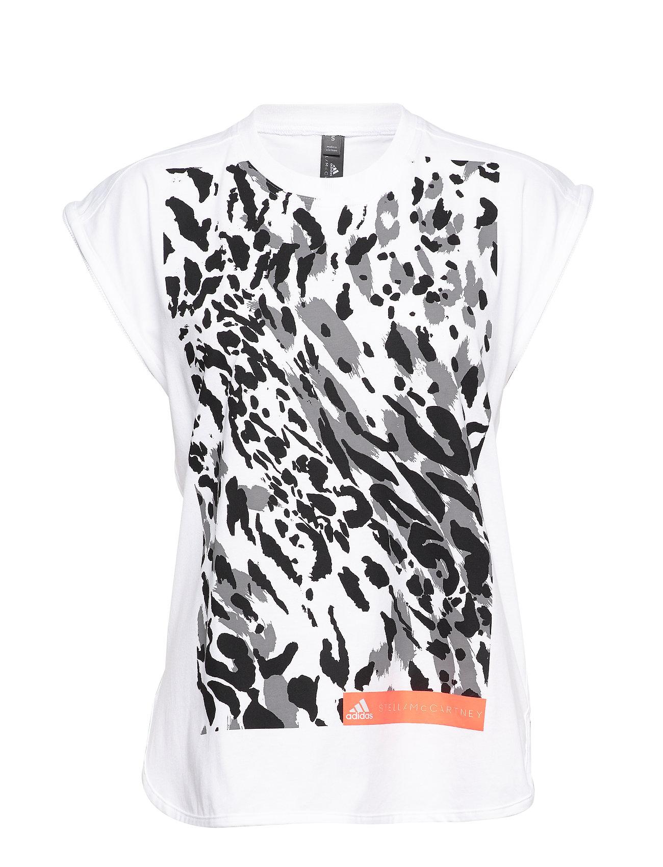 adidas by Stella McCartney GRAPHIC TANK - WHITE