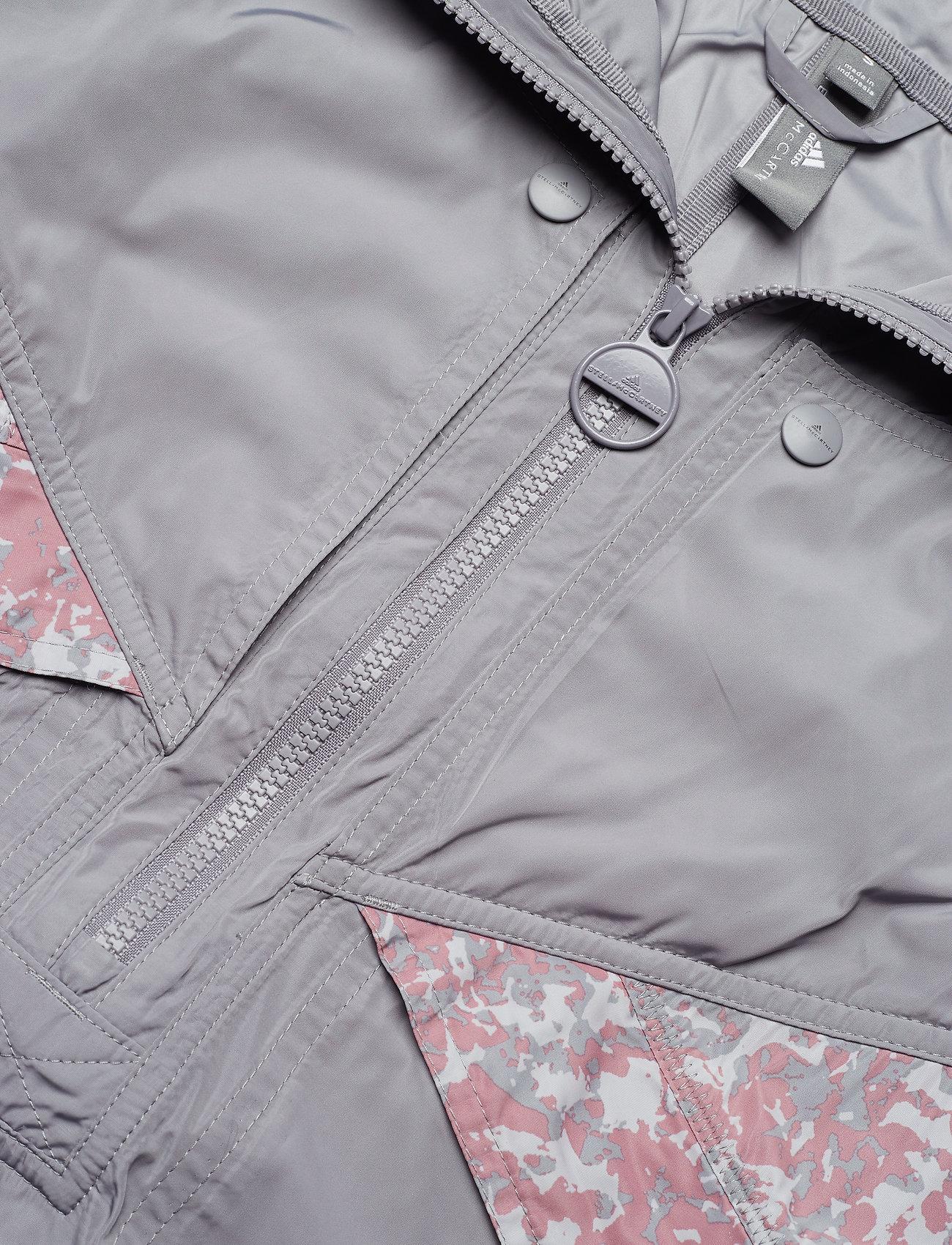 adidas by Stella McCartney LIGHT PO JACKET - Kurtki i Płaszcze GREY - Kobiety Odzież.