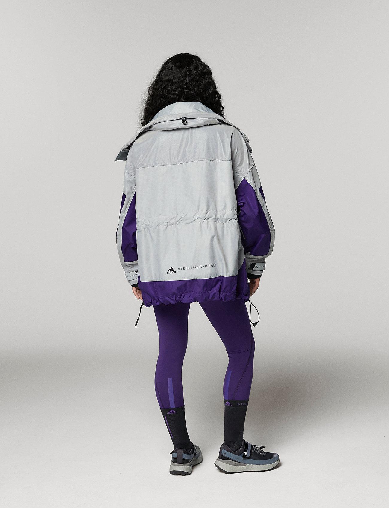 adidas by Stella McCartney - URBXTR SH JKT - training jackets - refsil/clonix/cpurpl - 4