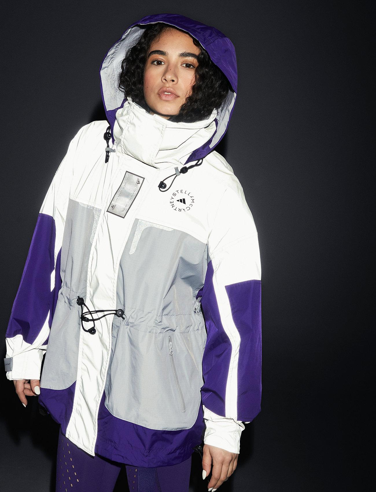 adidas by Stella McCartney - URBXTR SH JKT - training jackets - refsil/clonix/cpurpl - 5