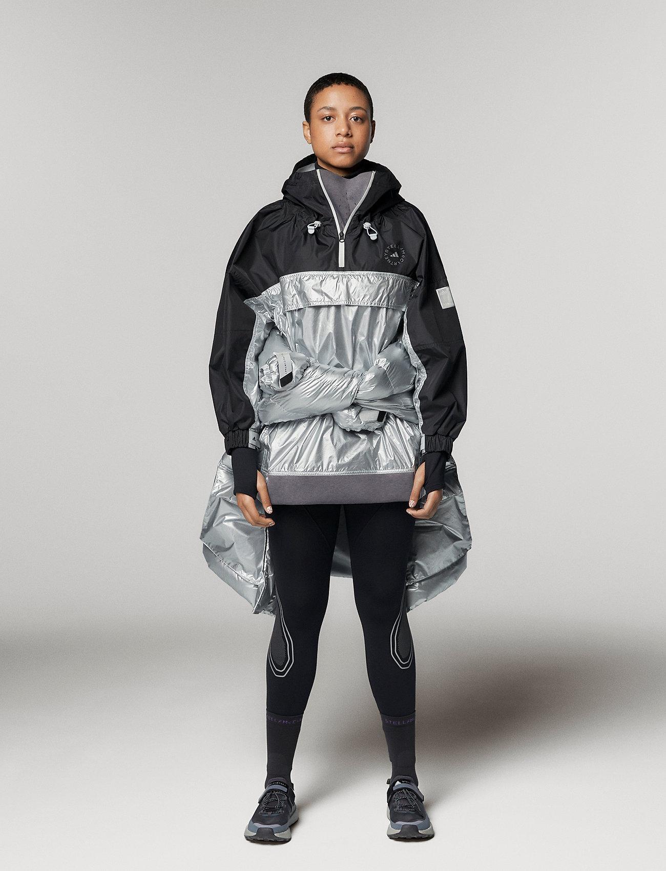 adidas by Stella McCartney - URBXTR PULLON - träningsjackor - black/metsil - 0