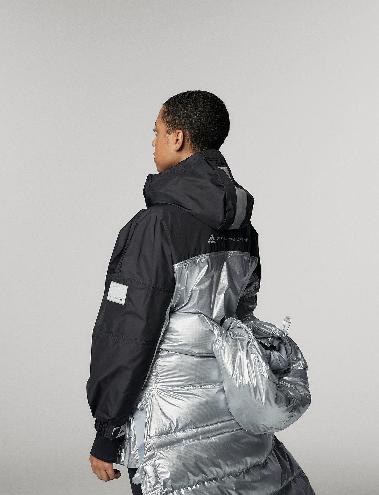 adidas by Stella McCartney - URBXTR PULLON - training jackets - black/metsil - 4