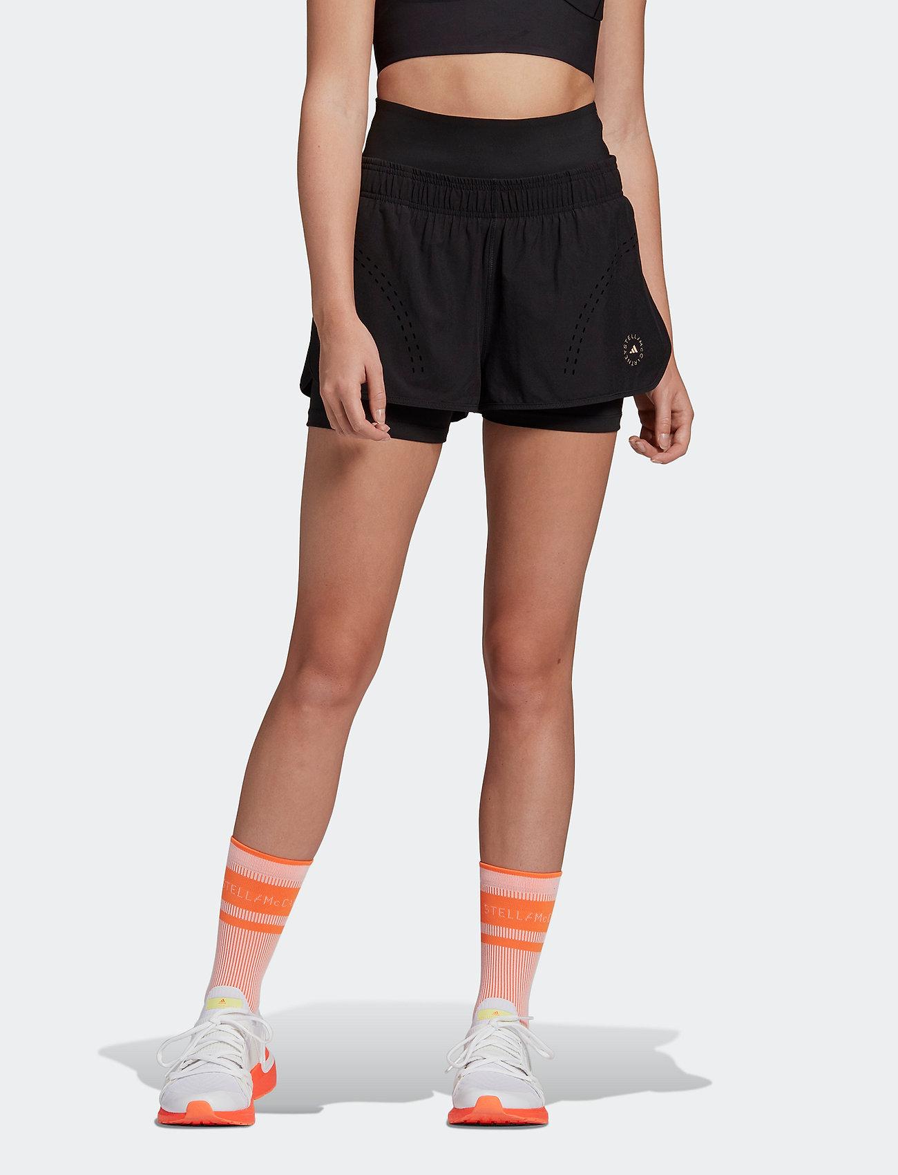 adidas by Stella McCartney - TruePurpose High Intensity Shorts W - tights & shorts - black - 0