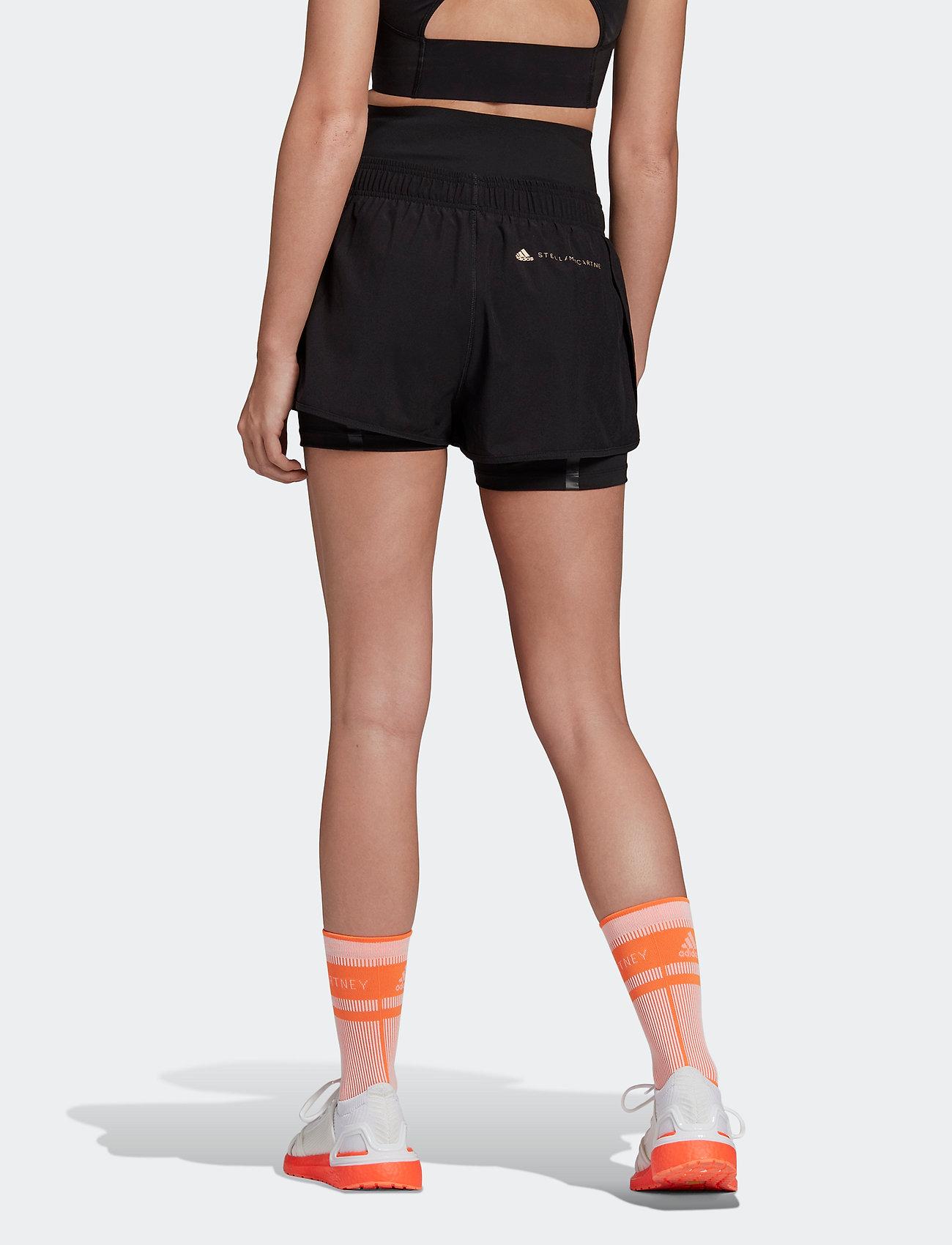 adidas by Stella McCartney - TruePurpose High Intensity Shorts W - tights & shorts - black - 4