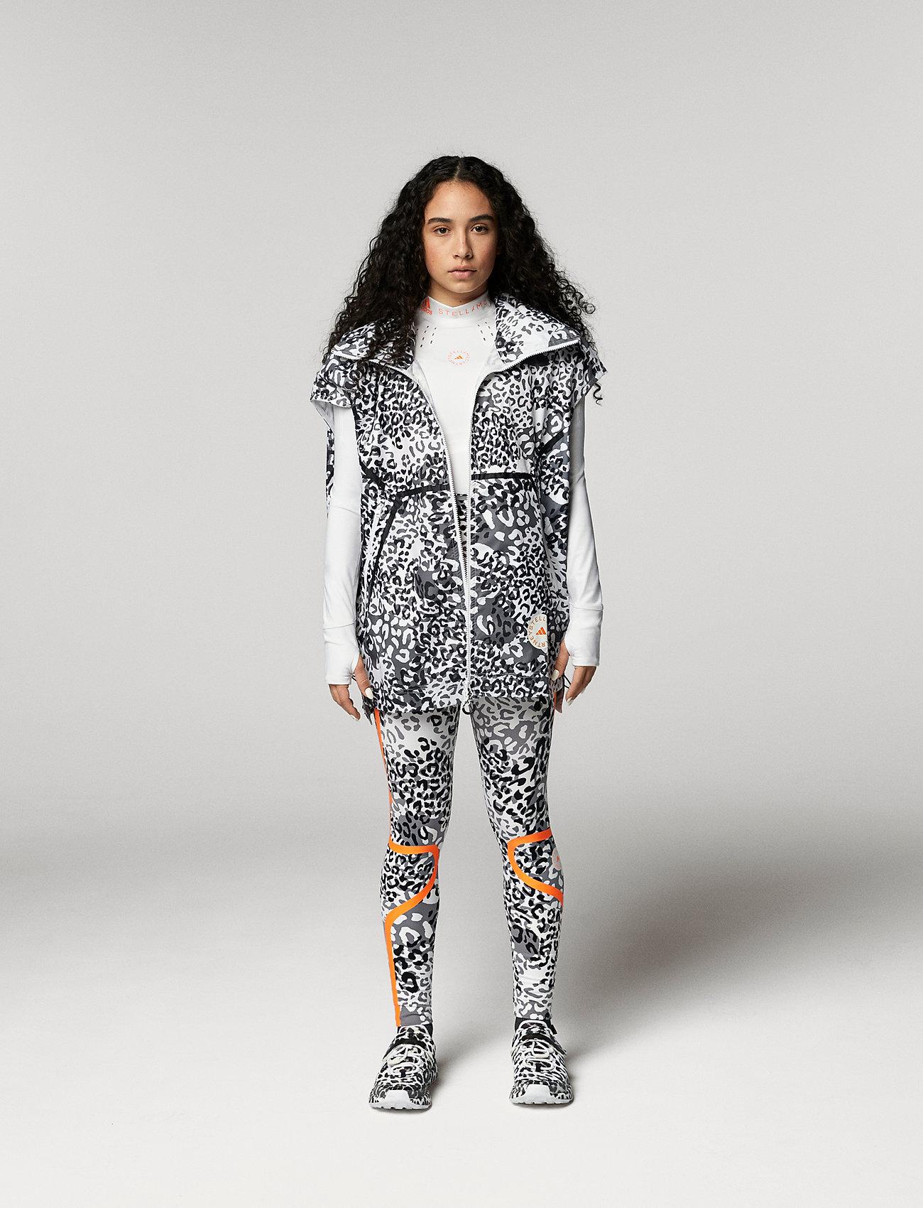 adidas by Stella McCartney - TRUEPACE GILET - gevoerde vesten - white/black/ash - 0