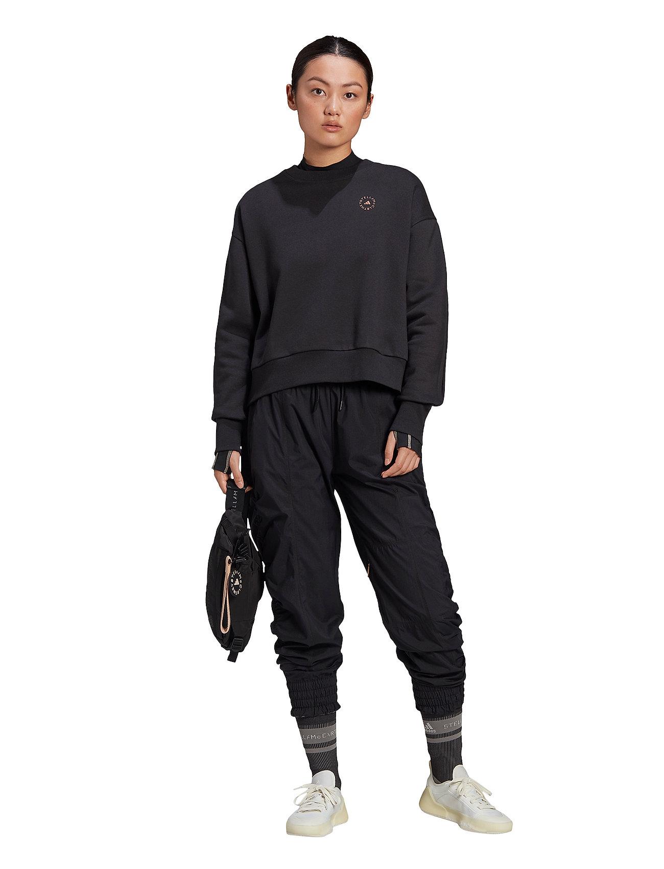 adidas by Stella McCartney - Sweatshirt W - sweatshirts & hoodies - black - 2