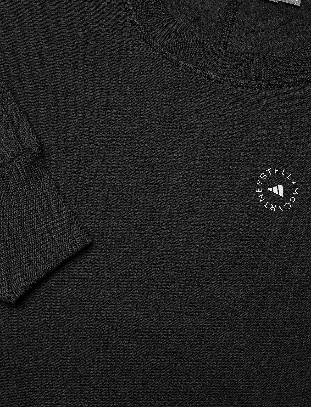 adidas by Stella McCartney - Sweatshirt W - sweatshirts & hoodies - black - 3