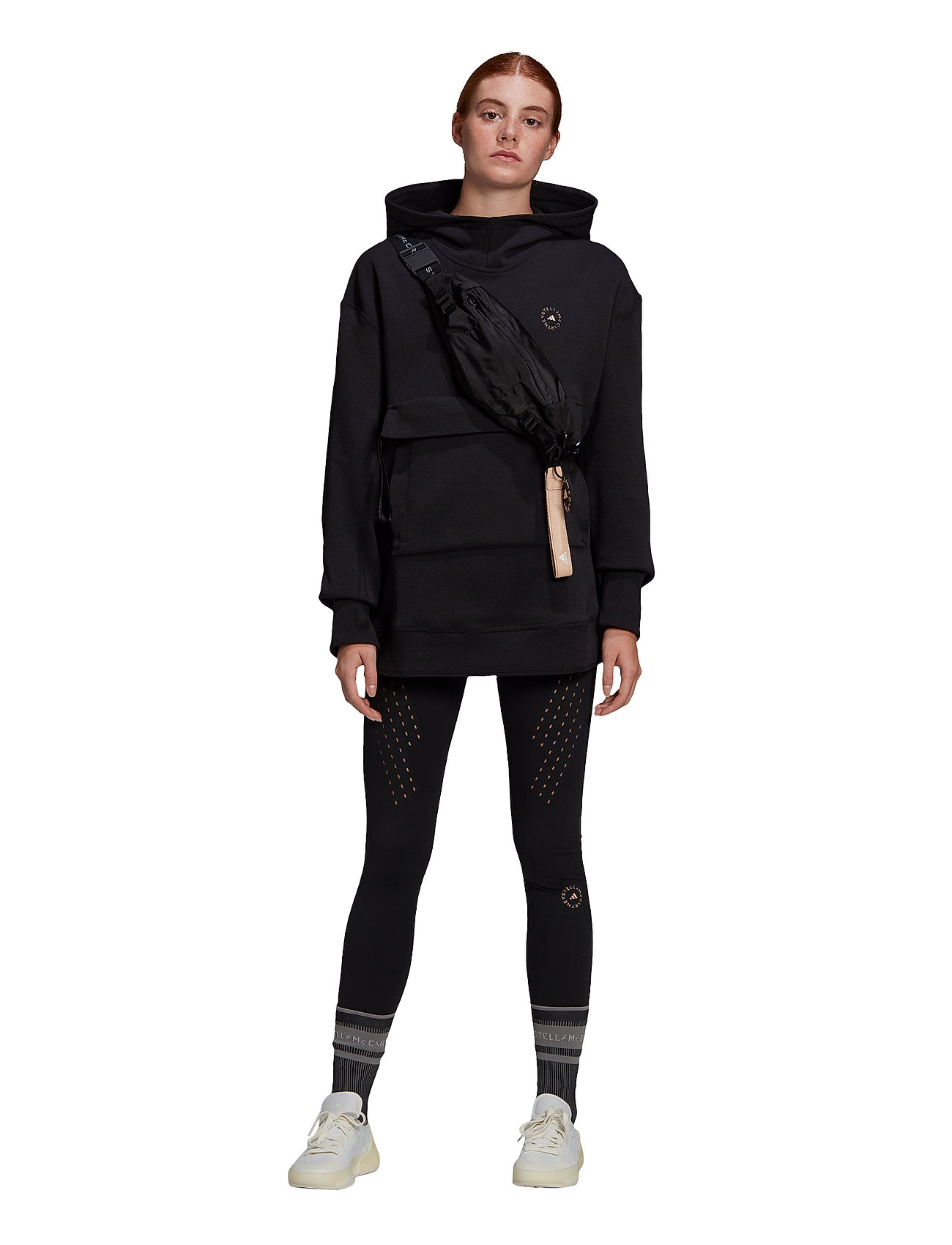 adidas by Stella McCartney - TruePurpose High Waist Tights W - tights & shorts - black - 2
