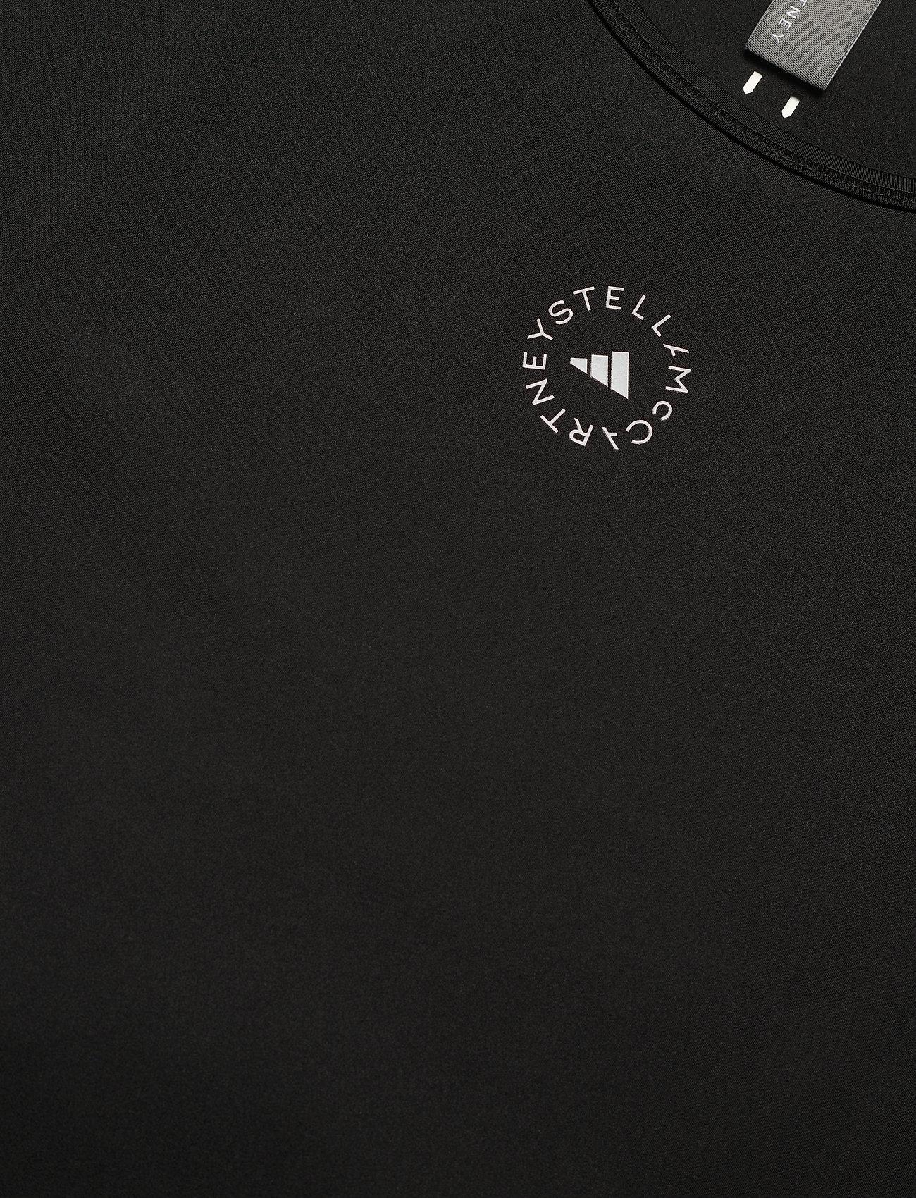 adidas by Stella McCartney - TrueStrength Loose T-Shirt W - t-shirts - black - 5