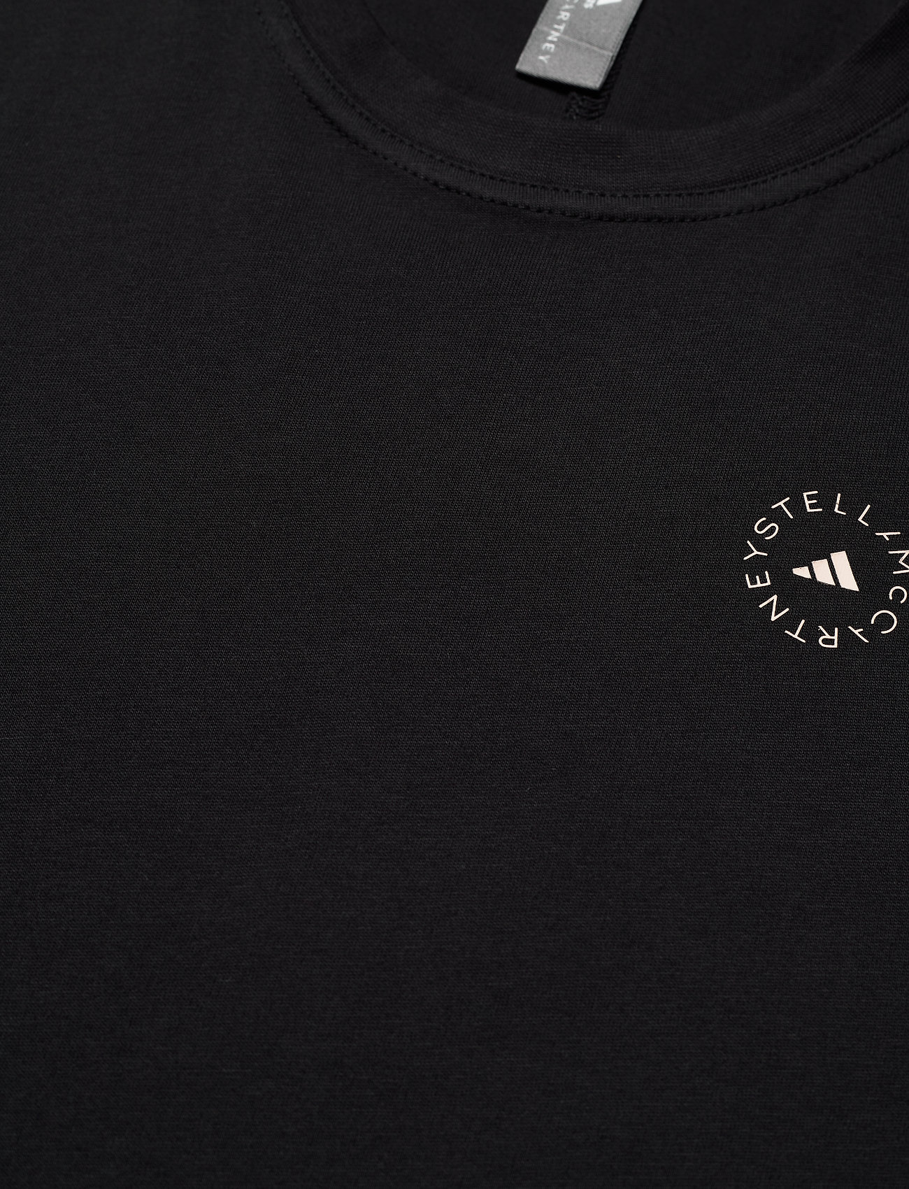 adidas by Stella McCartney - Cotton T-Shirt W - t-shirts - black - 2
