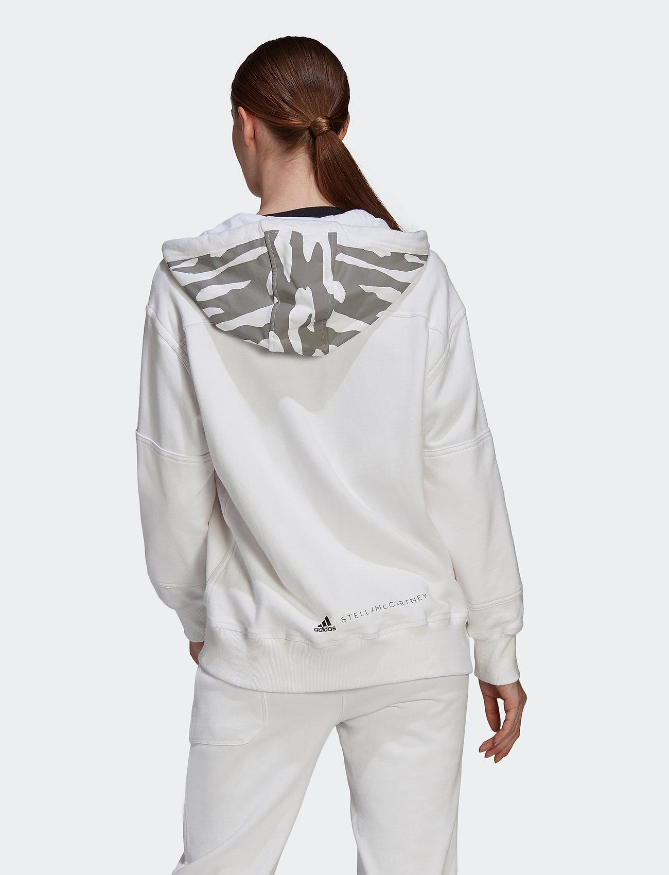 adidas by Stella McCartney - Sportswear Hooded Sweatshirt W - sweatshirts & hoodies - white - 3