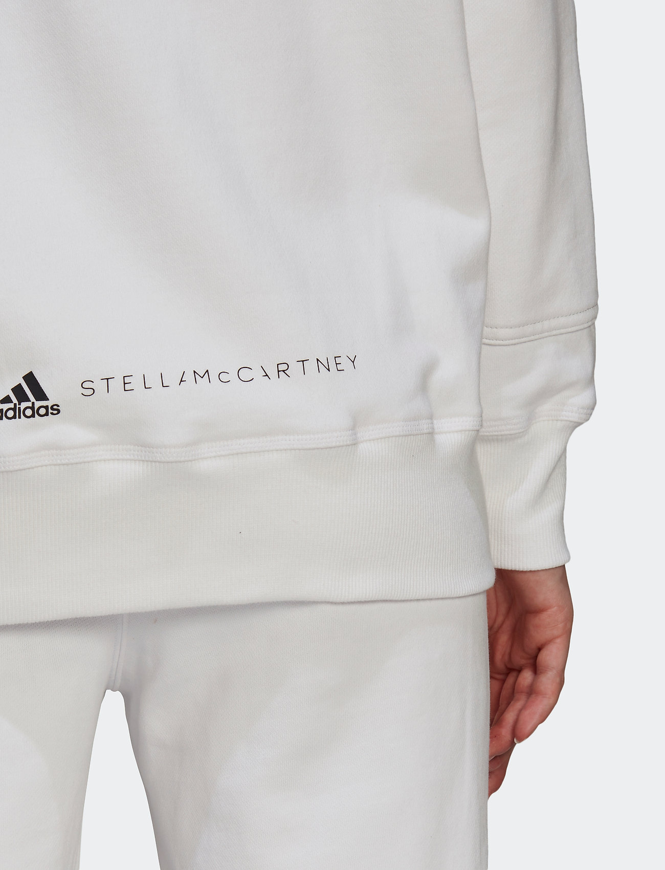 adidas by Stella McCartney - Sportswear Hooded Sweatshirt W - sweatshirts & hoodies - white - 4