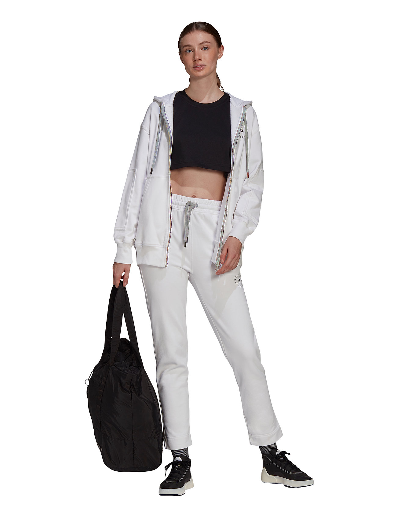 adidas by Stella McCartney - Sportswear Hooded Sweatshirt W - sweatshirts & hoodies - white - 5