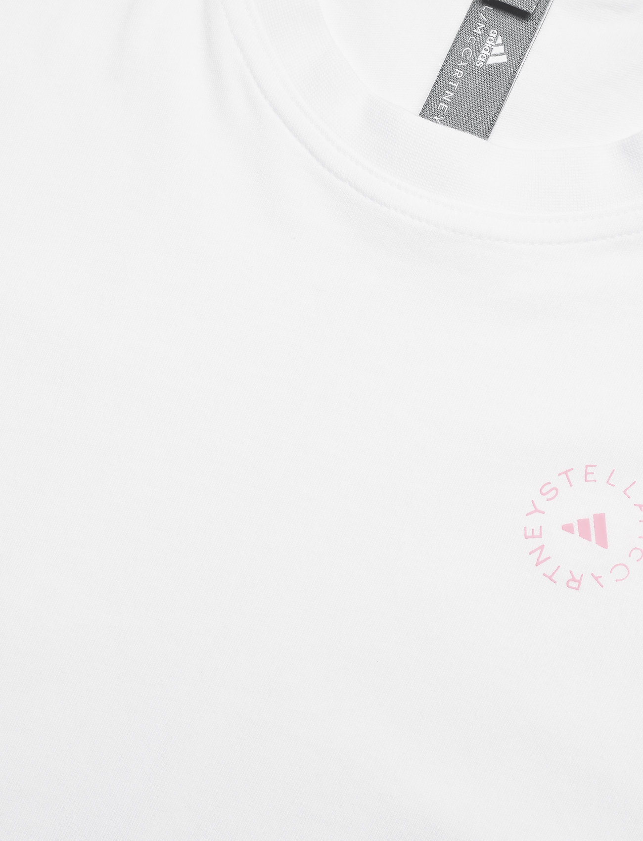 adidas by Stella McCartney - Cotton T-Shirt W - t-shirts - white/white - 5