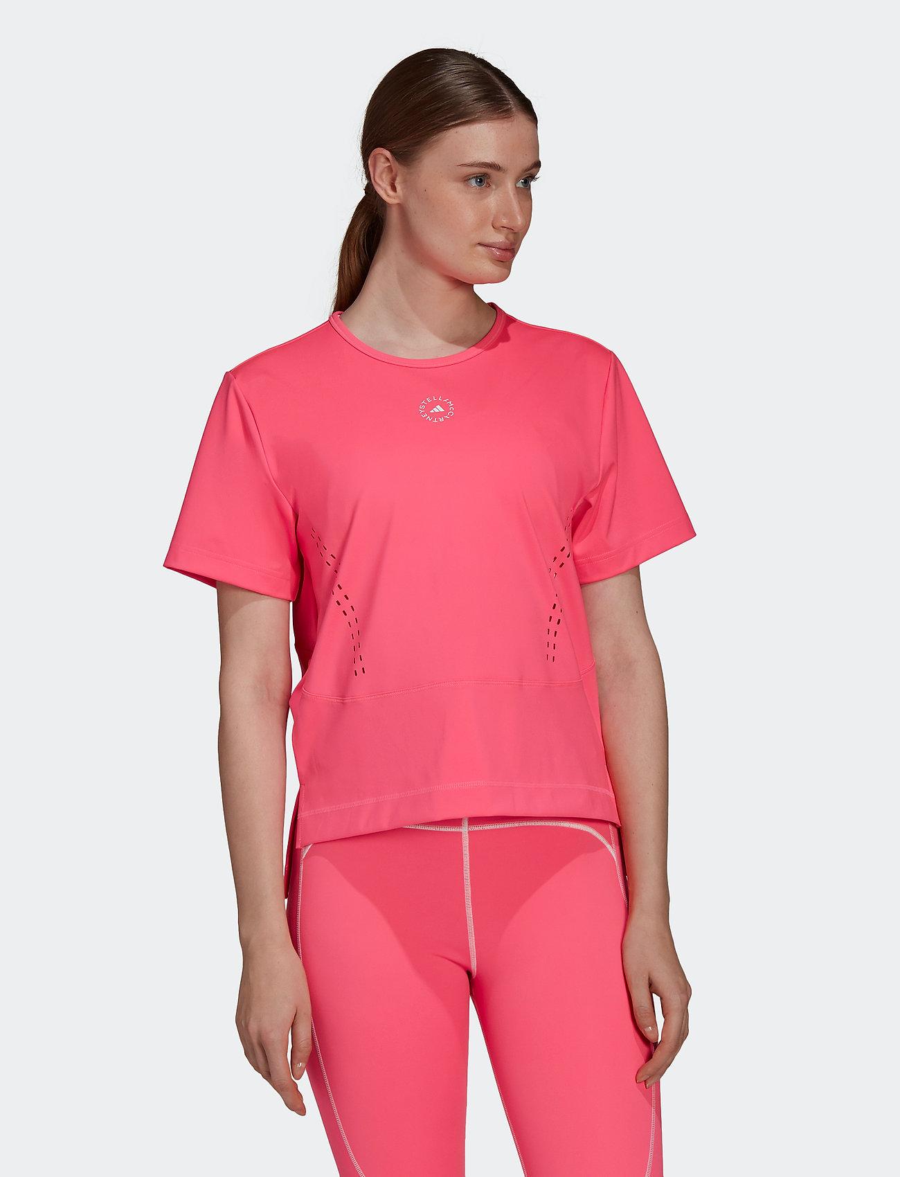 adidas by Stella McCartney - TRUESTRENGTH Loose T-Shirt W - t-shirts - sopink - 0
