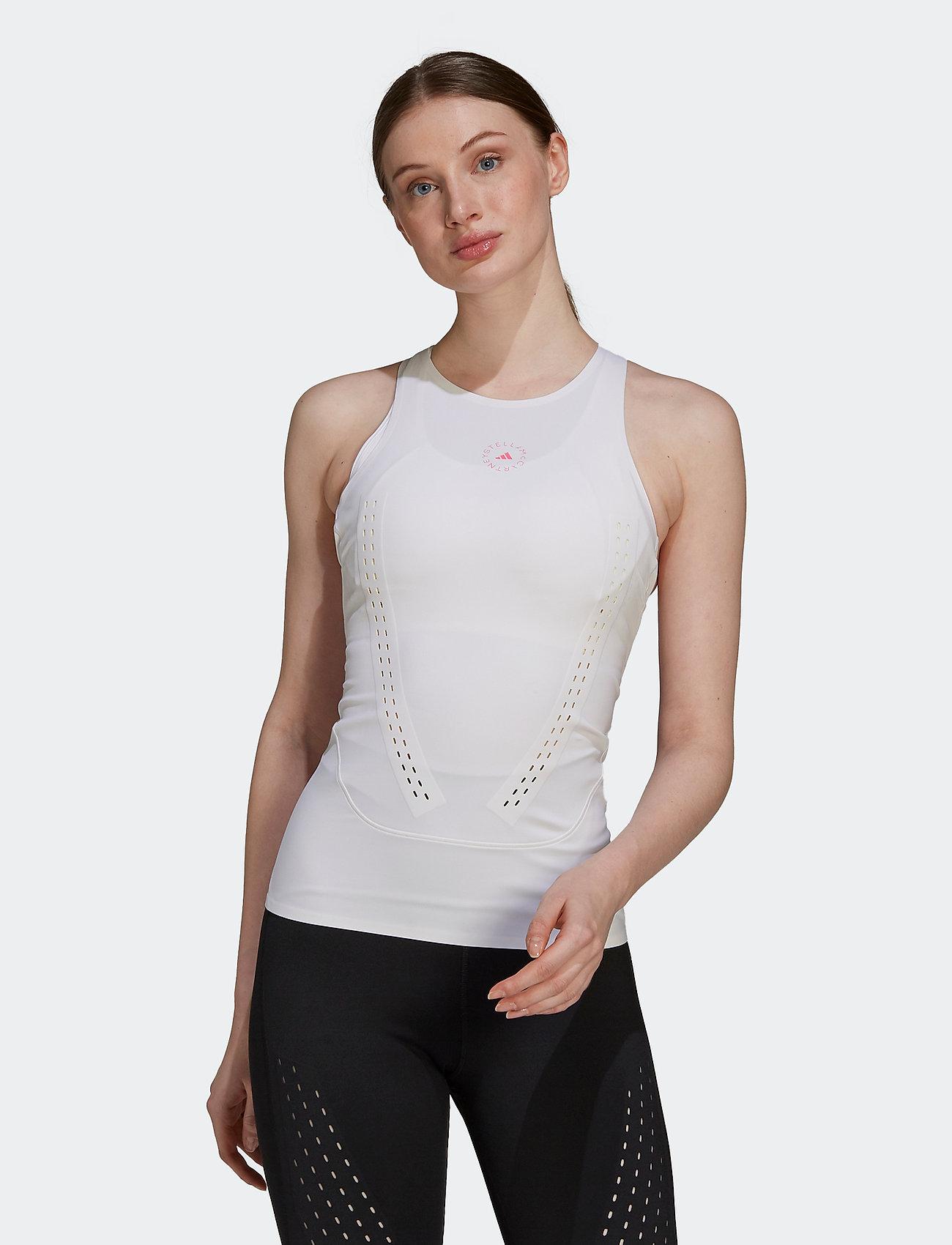 adidas by Stella McCartney - TruePurpose Tank Top W - sleeveless tops - white/white - 0