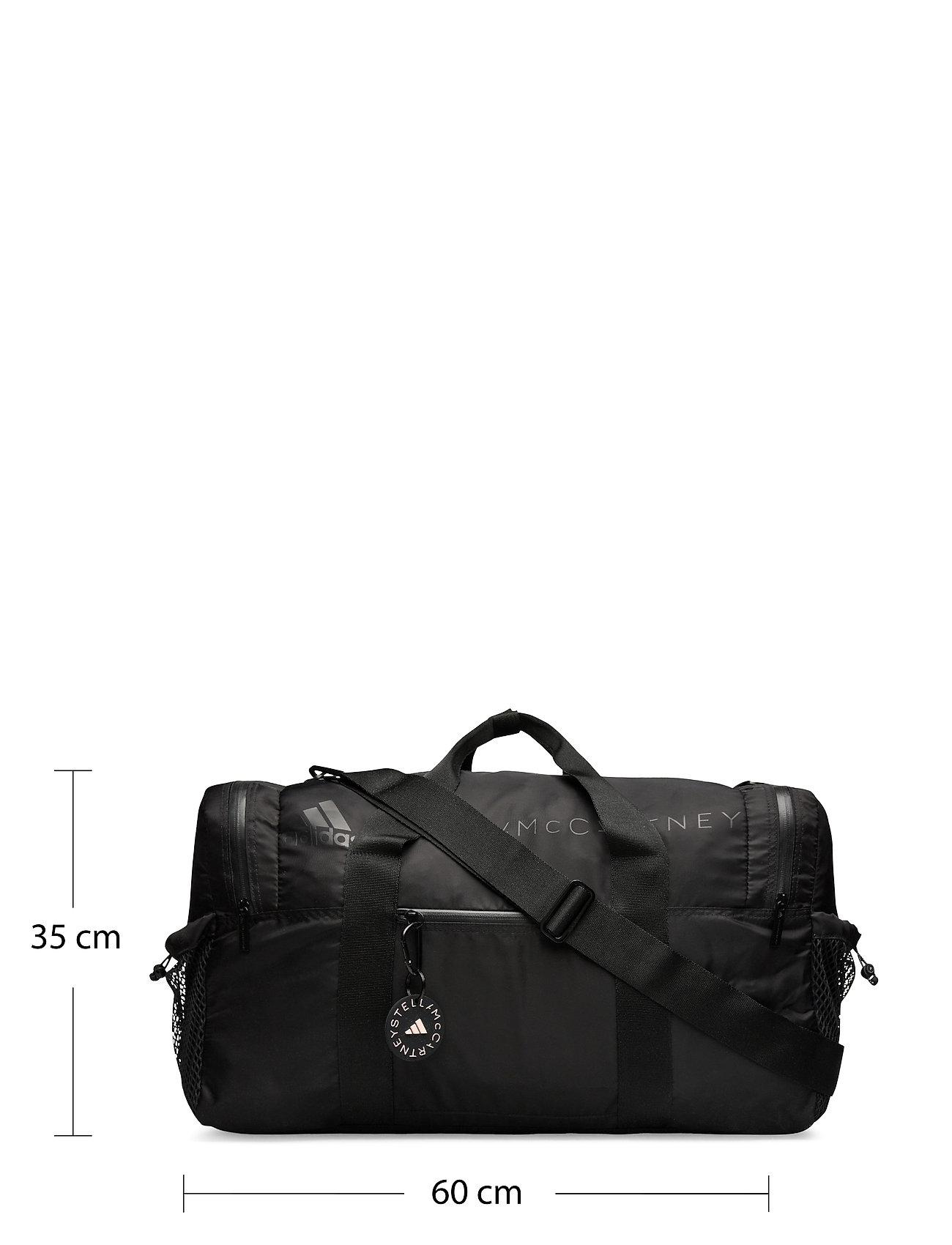 adidas by Stella McCartney - Squared Studio Bag W - gym bags - black/matblk/black - 5