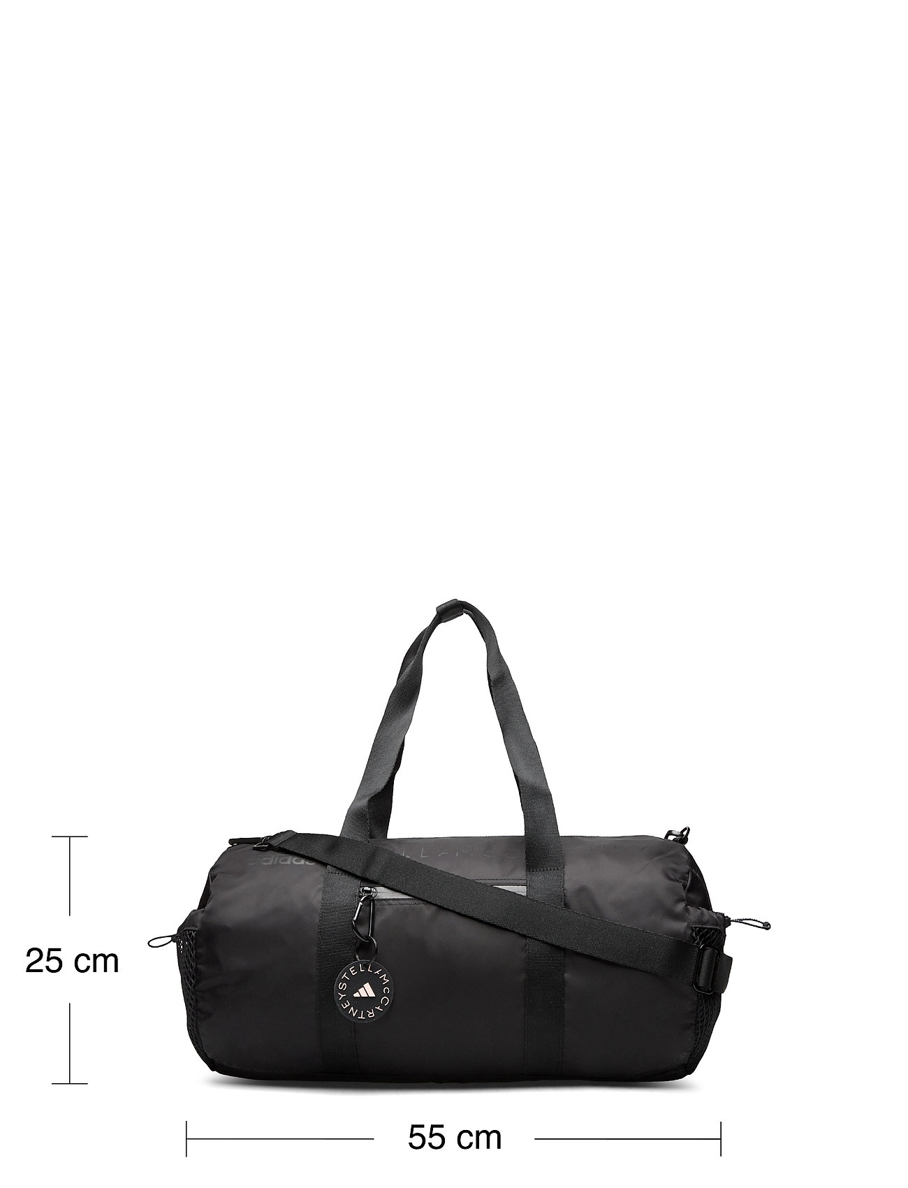 adidas by Stella McCartney - Round Studio Bag W - gym bags - black/sofpow - 5