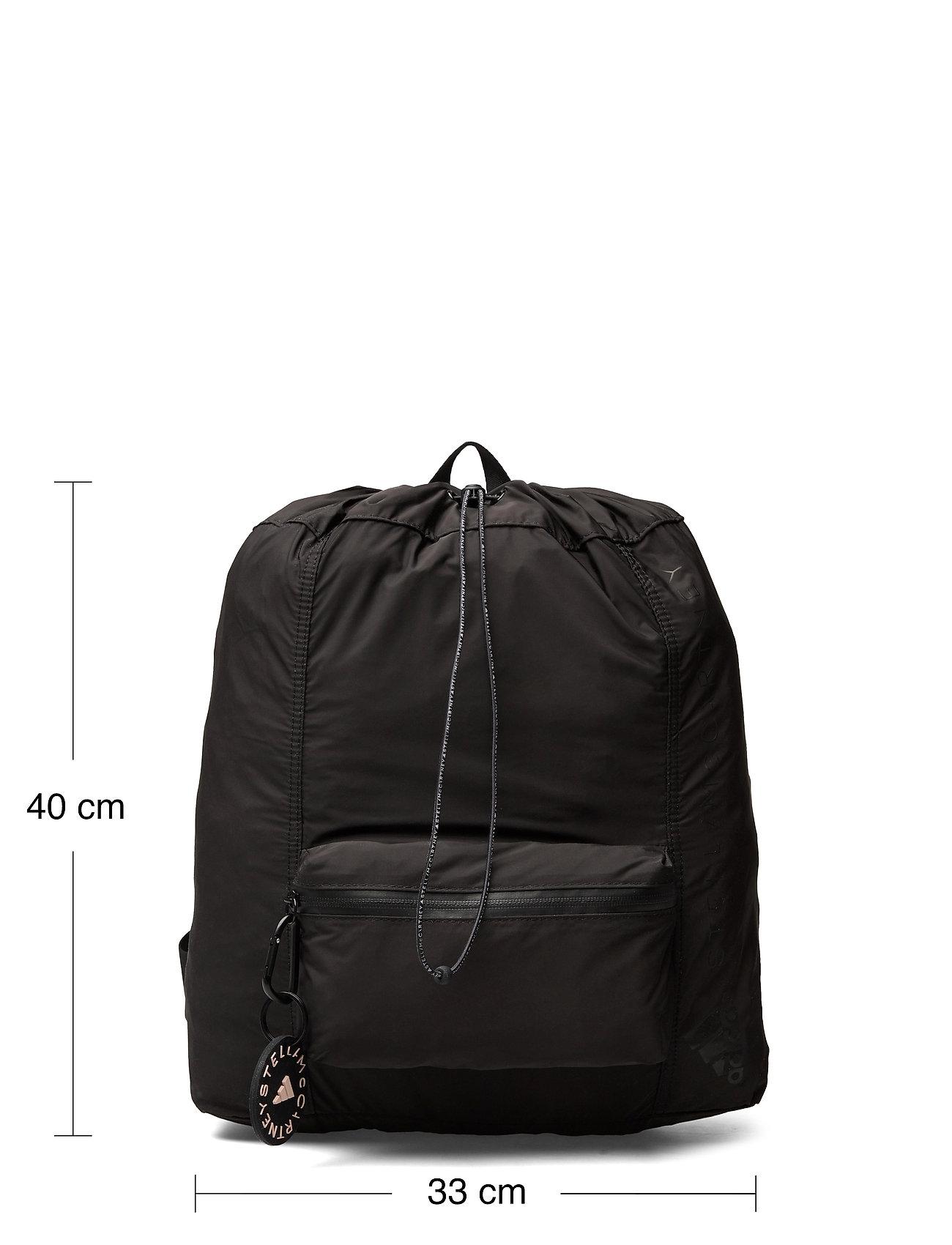 adidas by Stella McCartney - Gym Sack W - new arrivals - black/black/sofpow - 4